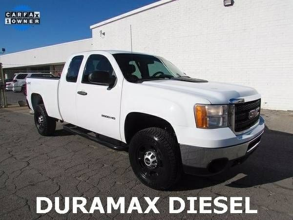 2013 GMC Sierra 2500 44 Diesel Duramax Used Pickup Truck We Finance! (GMC_2500_Duramax)