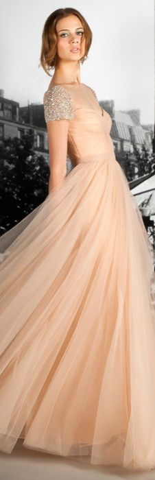 #nude #long #dress