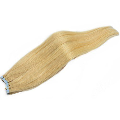 Moresoo 50cm #60 Lightest Blond Lisse Extensions de Cheveux Naturels Adhesives / Tape Qualite PRO 100g Moresoo https://www.amazon.fr/dp/B00UV56MBU/ref=cm_sw_r_pi_dp_zQBdxbG1KGVSC
