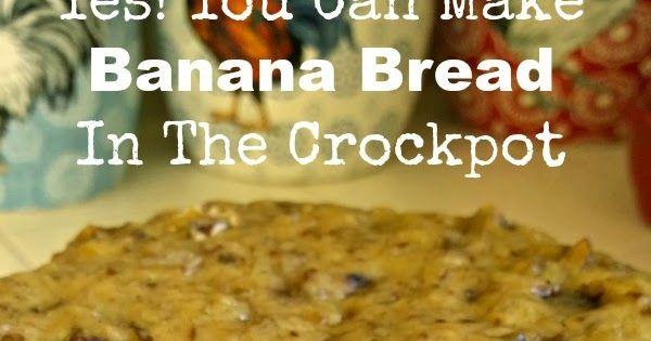 Sunny Simple Life: Crock Pot Banana Bread