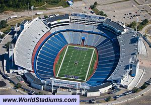 Buffalo Bills - Ralph Wilson Stadium........George Strait Festival :) was awesome, but the beer was warm bud :( lol