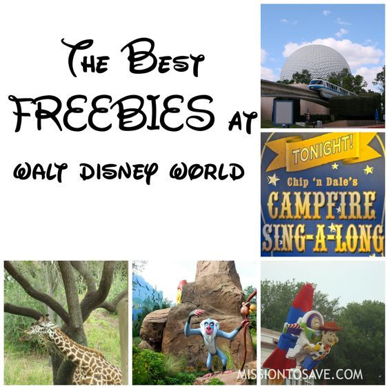"Check out this list of the Best Freebies at Walt Disney World.  Especially if you are not staying ""on property"". Great tips for some free Disney fun."