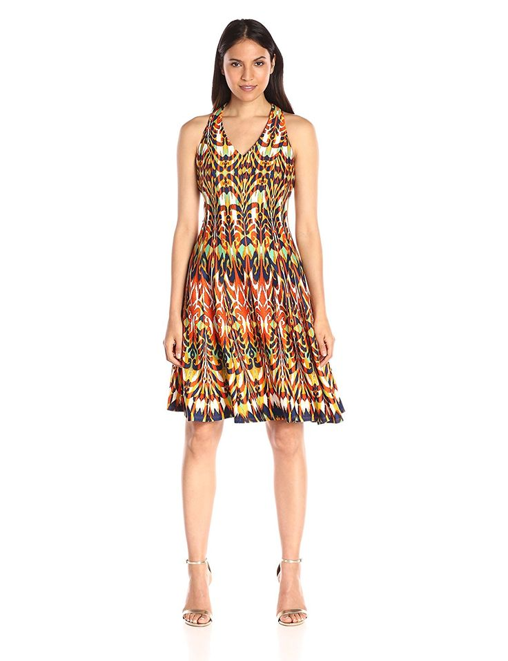 Gabby Skye Women's Tribal Printed Halter Dress ^^ Insider's special review you can't miss. Read more  : Women's dresses