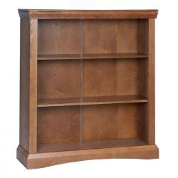 Paris Low Bookcase has the unique design can suits every room with this stunning pure Pine wood. It has the right size Height: 1098 mm, Width: 950 mm, Depth: 285 mm. More details: http://solidwoodfurniture.co/product-details-pine-furnitures-1869-paris-low-bookcase.html