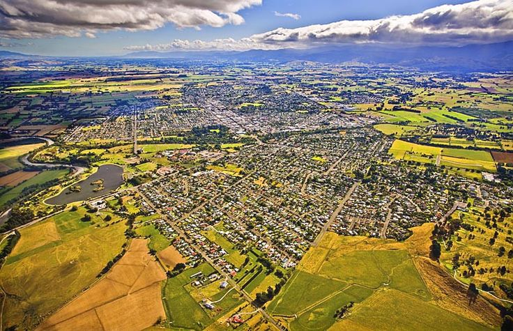 Masterton, looking south,   see more at New Zealand Journeys app for iPad www.gopix.co.nz