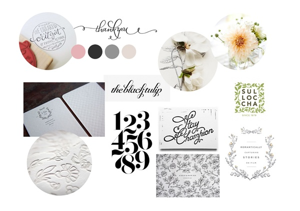 client mood board by emma robertson (emmadimes): Client Inspiration, Design Inspiration, Mood Boards, Graphics Design, Color Theme, Fonts, Client Mood, Calligraphy Mood, Boards Layout