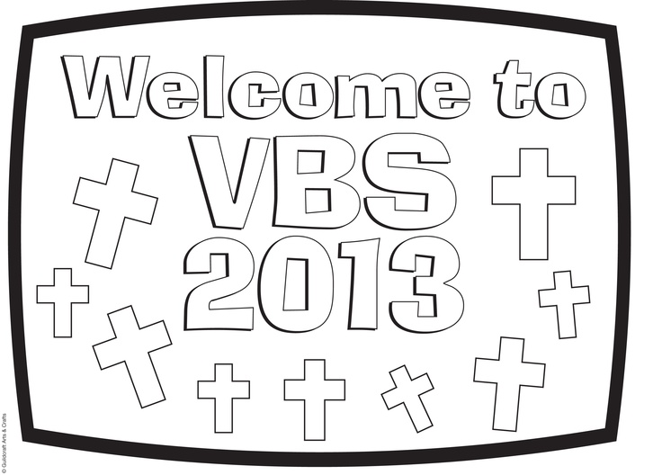 Free vbs 2013 coloring sheet from guildcraft arts crafts for Guildcraft arts and crafts