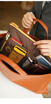 Get a purse organizer. | 52 Meticulous Organizing Tips For The OCD Person In You