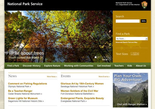 beautiful government websites
