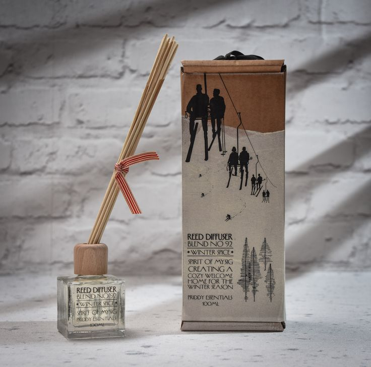 Mysig Winter Room Diffuser - A perfect winter fragrance and a great Christmas gift idea.