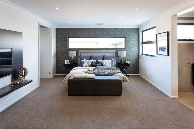 Space and style are key in this gorgeous master bedroom. #weeksbuildinggroup #homedesign #interiordesign #newhome