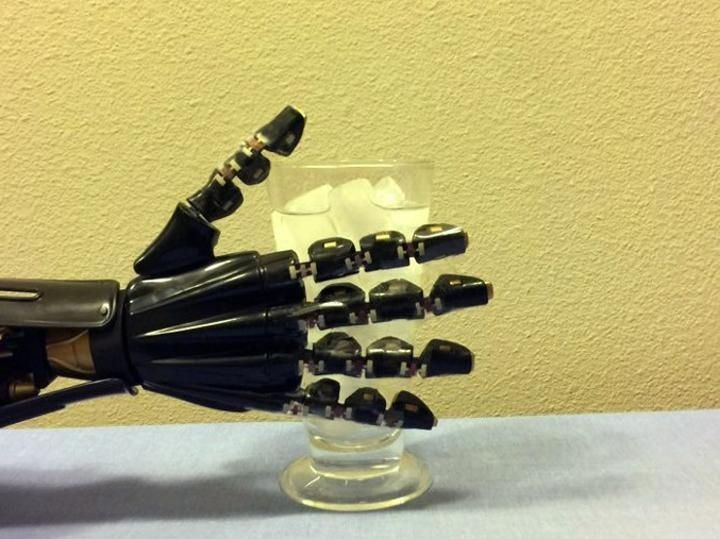"""Latest leap in developing sensitive synthetic #skin for #robotic applications adds the ability for it to """"feel"""" temperature...#Science"""