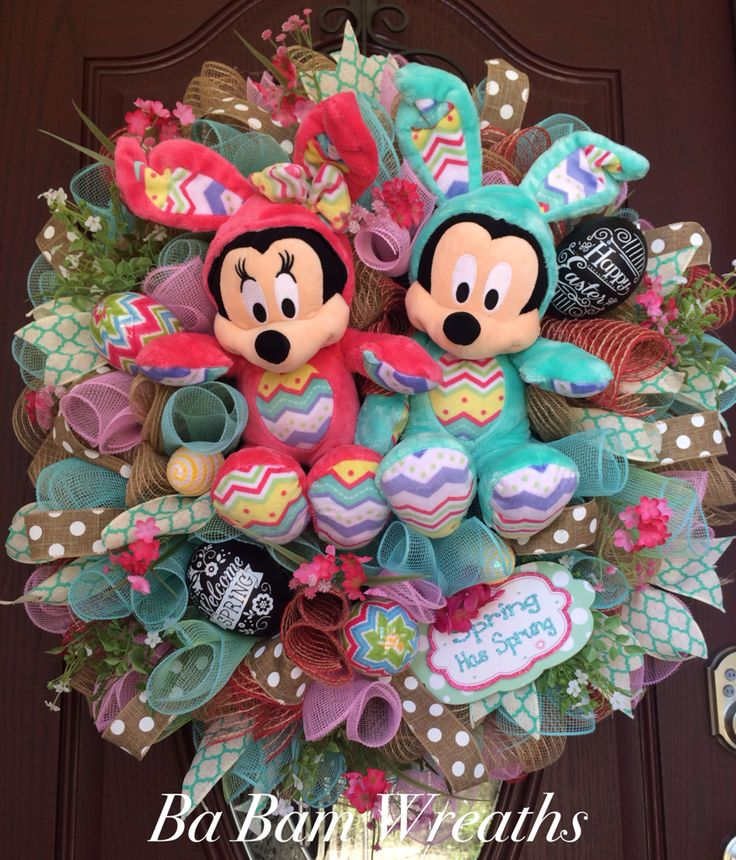 25+ unique Mickey mouse wreath ideas on Pinterest | Disney ...