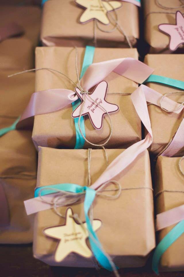 Little star.Gift box