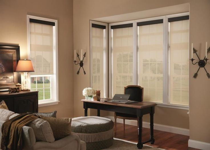 Solar Shades With Contrasting Valance Part 79