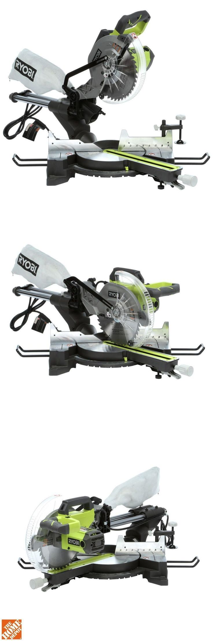 Miter and Chop Saws 20787: Miter Saw,15-Amp 10-Inch Sliding Compound Single Bevel Corded Miter Saw W Laser -> BUY IT NOW ONLY: $199 on eBay!