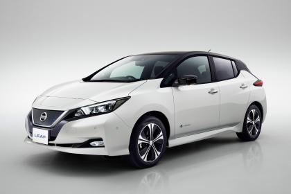 New Nissan Leaf - front