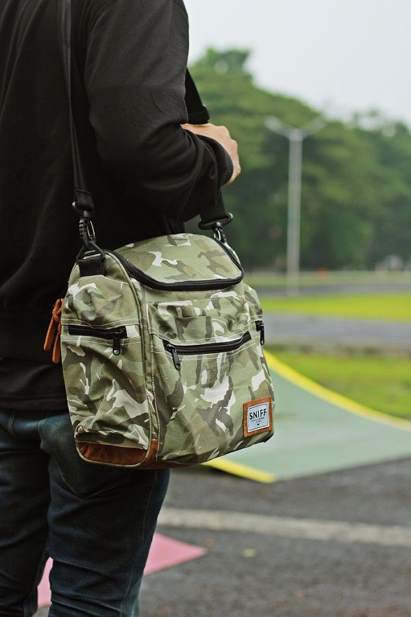 "SNIFFsupply co Slingbag ""THE AUTHENTIC CAMO"""