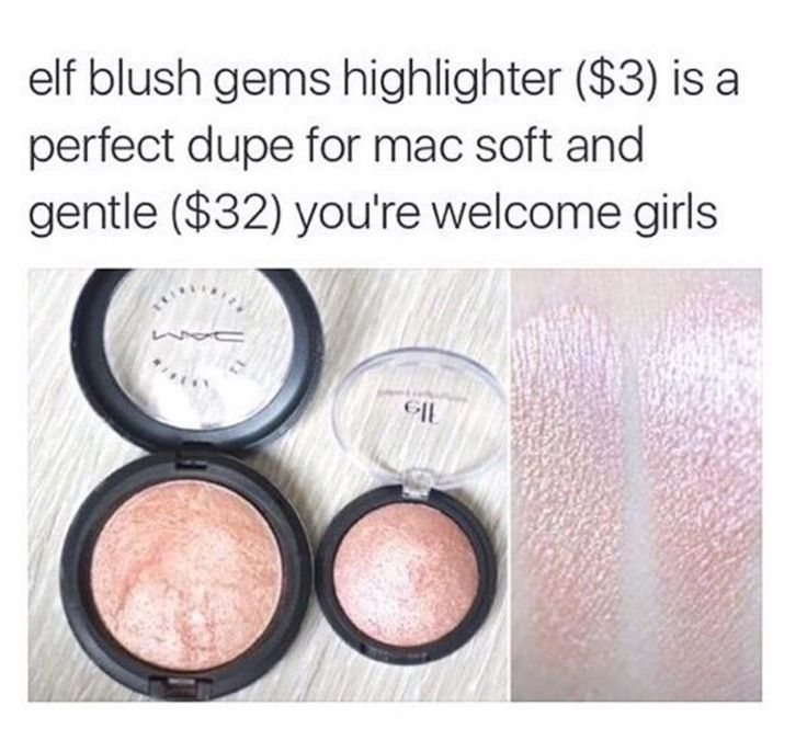 """veganpunkers: """" ELF, way way WAY way cheaper, good quality (just reapply after awhile) and it's vegan. No animal products or testing. """""""