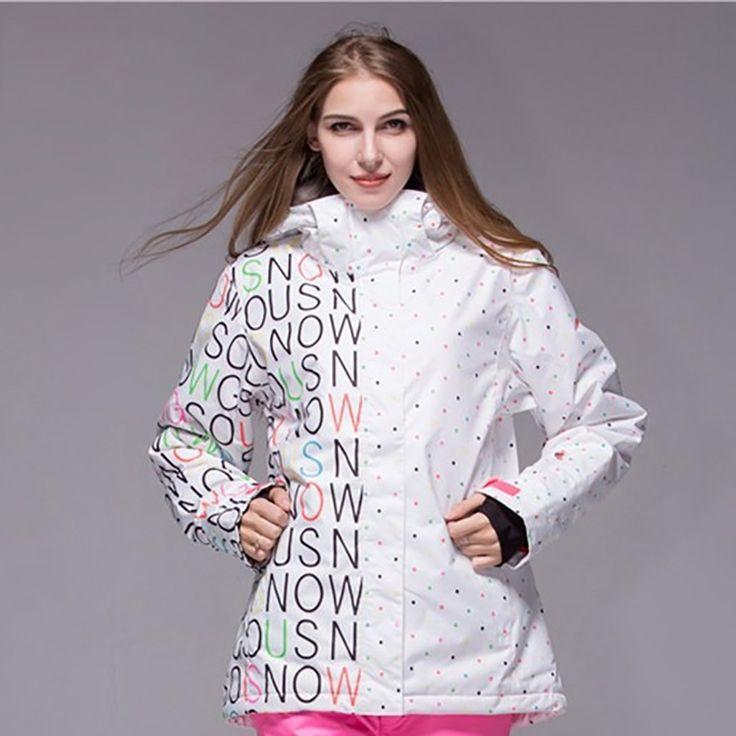 (179.00$)  Buy here  - Black White Plus Size Female Cheap Snowboard Jacket Winter Women Gsou Snow Ski Jackets Outdoor Windproof Waterproof Snow Jacket