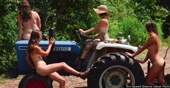 Nude calendars of farmers
