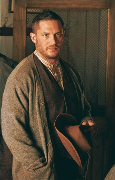 Tom Hardy in Lawless. My new on-screen boyfriend...beyond hot. Also, a great movie :)