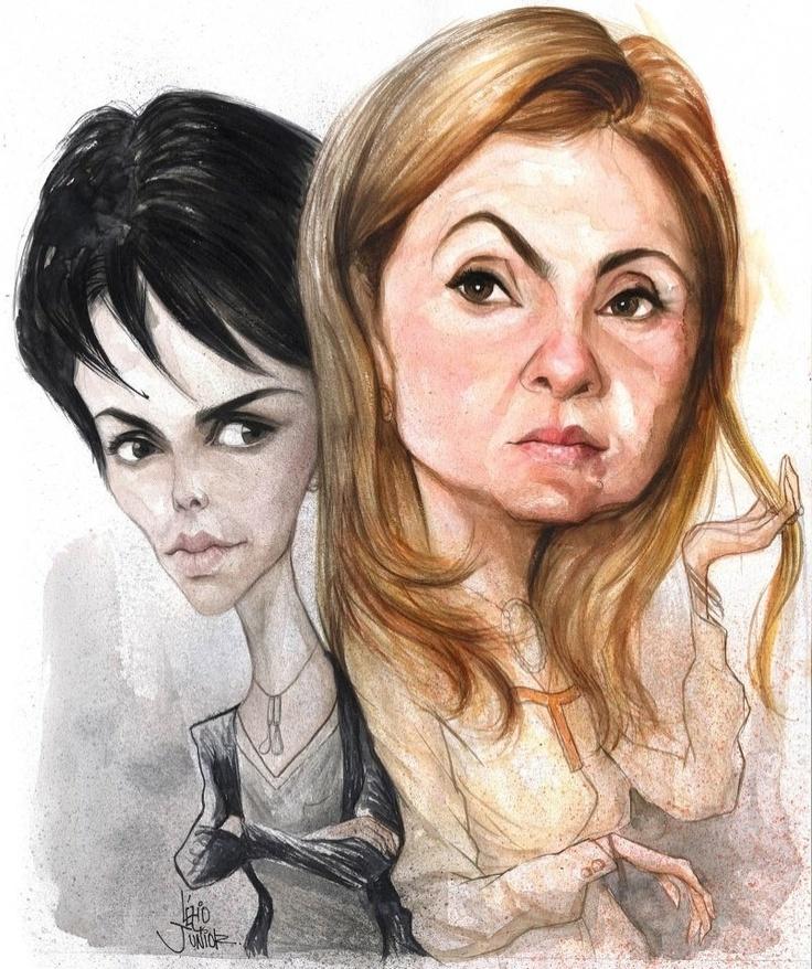Nina e Carminha / Avenida Brasil - Brazil TV soap opera