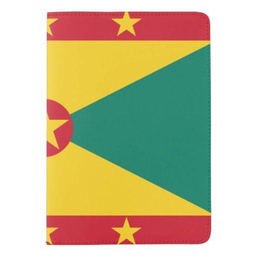 Grenadian flag passport holder