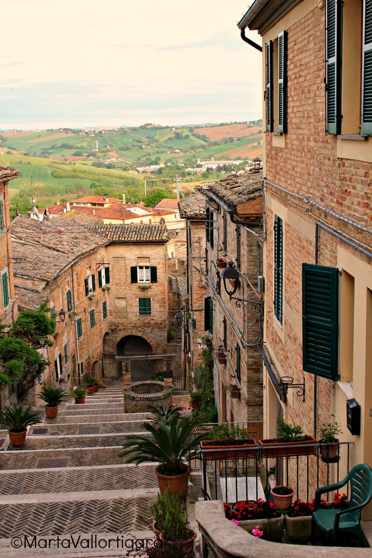 "Glimpse of S. Leo village (""The city of Arts"") - Marche, Italy Photo by Marta Vallortigara #travelling #photography #tourist"