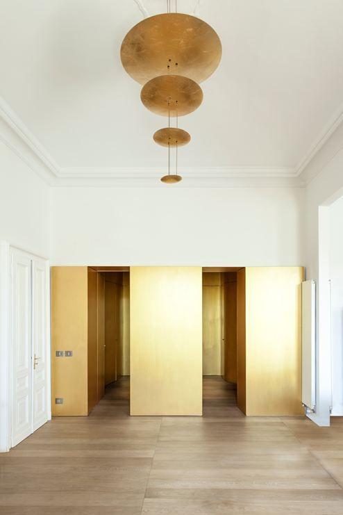 Appartamento Sul Fiume - Picture gallery #architecture #interiordesign #gold