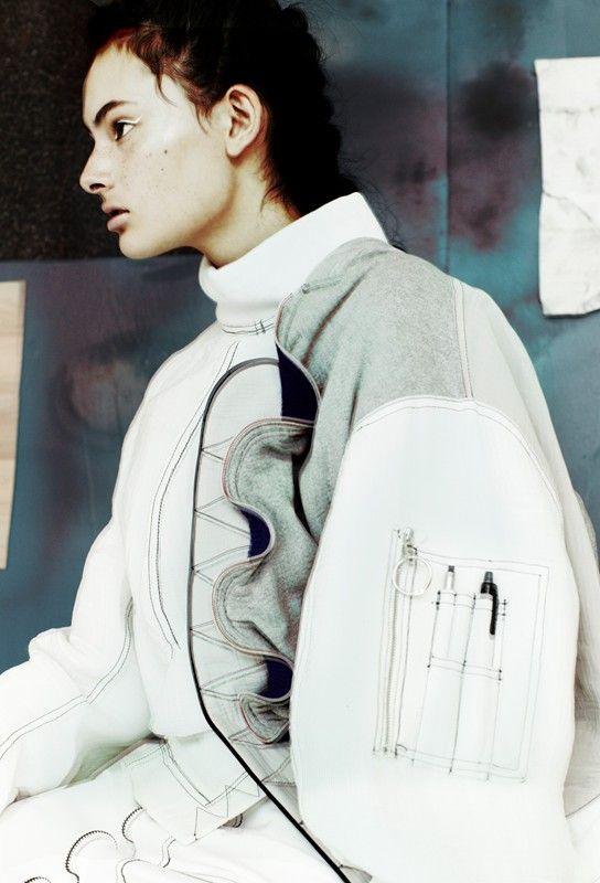 Sharnee Gates (IMG) wears Jo Park
