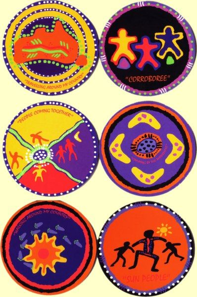 austrila aborigional art projects for kids - australian aboriginal art experiments for kids
