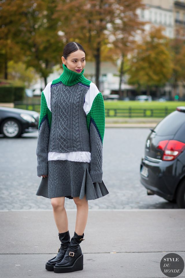 Paris Fashion Week SS 2016 Street Style: Erika Toda