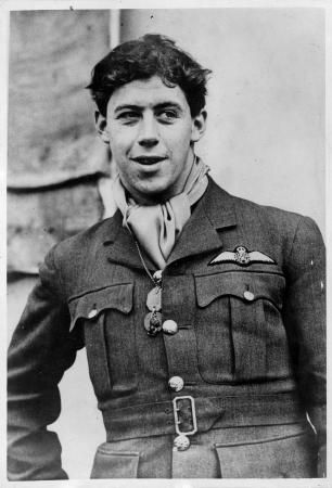 "The Allies' first air ace of WW2, New Zealander Flying Officer Edgar. (""Cobber"") Kain was one of the greatest legends of the first year of the war. His successes in the air, coupled with his warm personality and charm, made him the media's favourite airman of late 1939 and early 1940.    He served with No. 73 Squadron, RAF, in France, where he is officially credited with shooting down 14 German aircraft between November 1939 and June 1940."