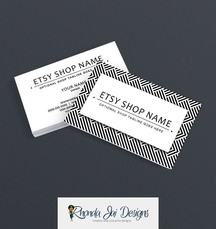 57 best Etsy Business Cards images on Pinterest | Business card ...