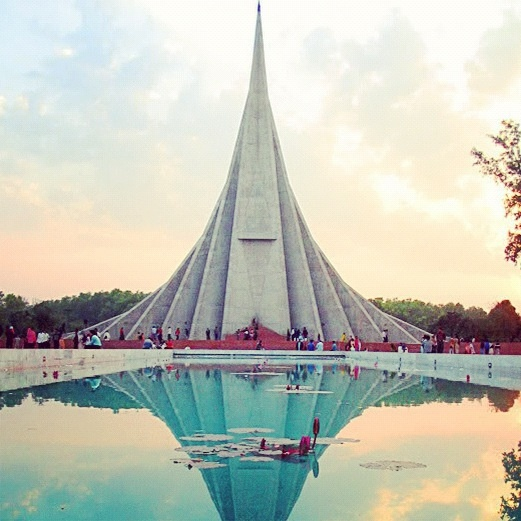 sriti shoudho, national martyrs memorial, savar, bangladesh.  follow @modbangladesh on instagram!