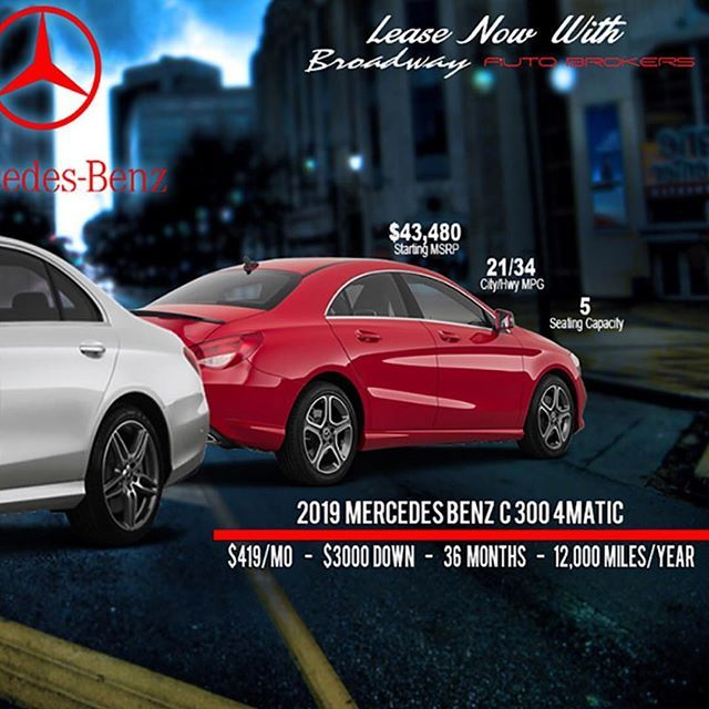 Mercedes Benz Fall Winter Special Lease Deals 2019 C 300 For 419 A Month W 3000 Down Benz The Luxury Ride Mercedes Benz For Sale Mercedes Benz Mercedes