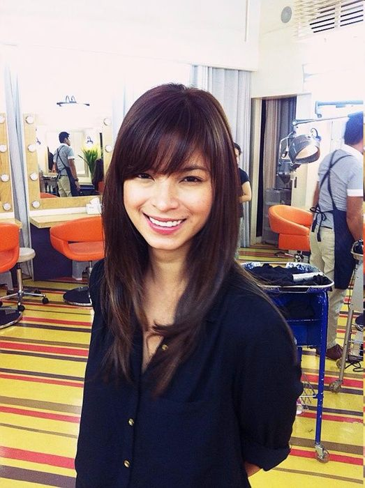 Angel Locsin new haircut for 2013