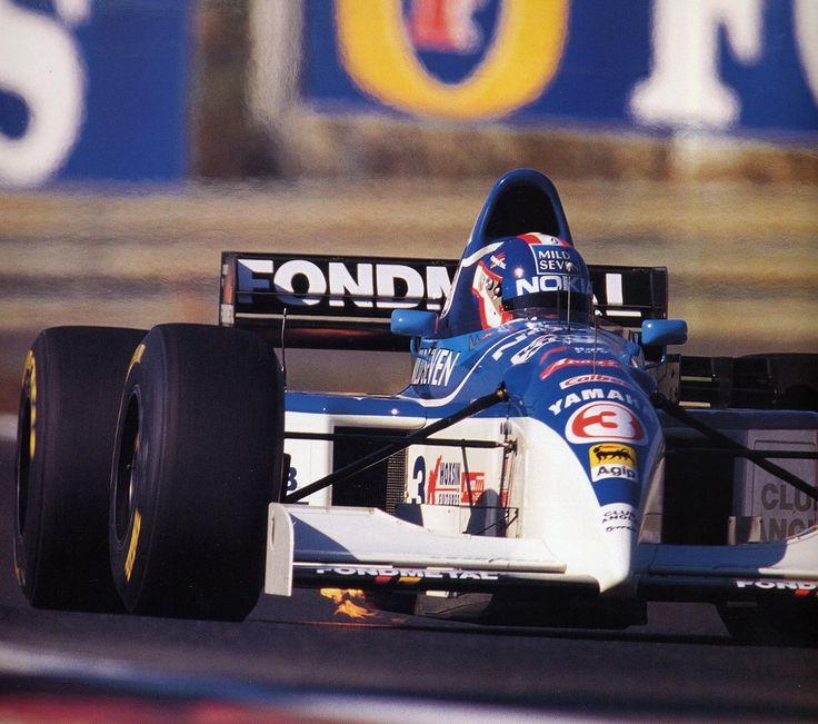 Ukyo Katayama (JPN) (Nokia Tyrrell Yamaha), Tyrrell 023 - Yamaha OX10C 3.0 V10 (Portugal 1995)