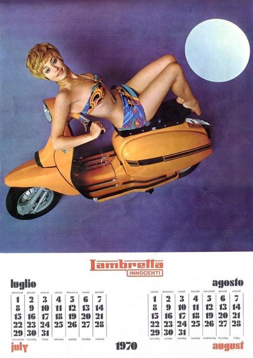 Lambretta babe