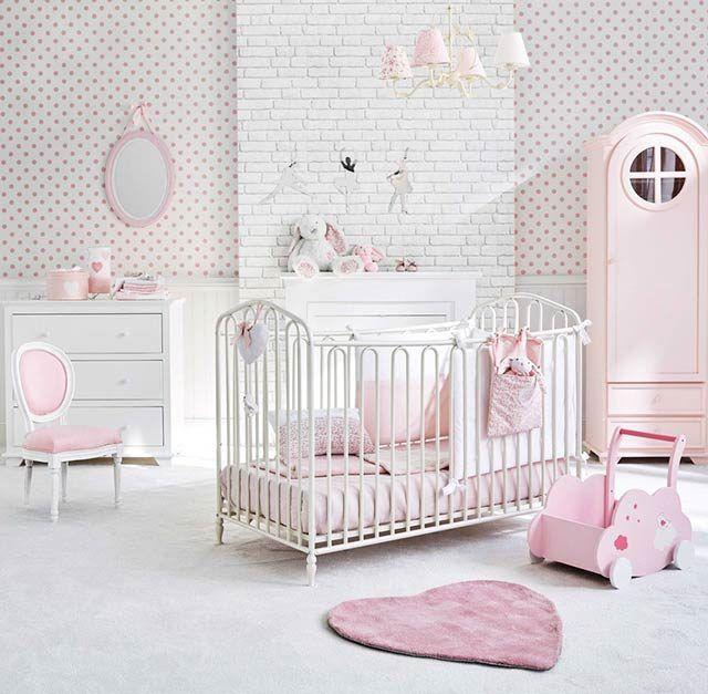 Chambre Bebe Romantique Babykamer Ontwerp Baby Meisje Kamer