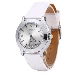 SHARE & Get it FREE | Sinobi 9276 Female Fashionable Crystal Quartz Watch…