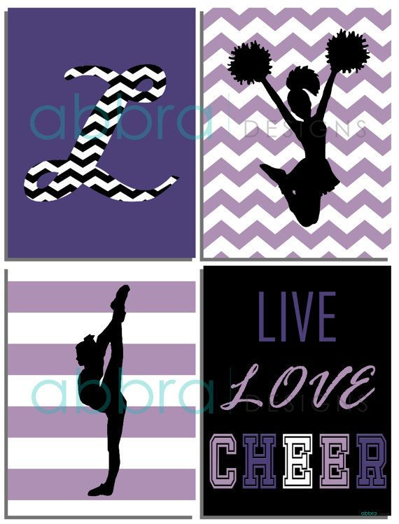 SET OF 4 UNFRAMED PRINTS. These cheerleader prints would make a great addition to any kids room, playroom or they would also make a great gift.  This listing includes four high quality unframed prints that are available in: SIZE OPTIONS (available from the drop-down menu) • 5 x 7 inches • 8 x 10 inches • 11 x 14 inches • If you need a special size just contact me. PRODUCT OPTIONS (available from the drop-down menu) • High quality print on 250gsm photo paper • 1/4 thick, dense white…