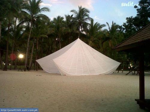 Gazebo Parachute 15u0027 White Round Wedding Decore Party Canopy Tent Shade | eBay | The Prince Weddingu003c3 | Pinterest | Party canopy Canopy tent and Parachutes & Gazebo Parachute 15u0027 White Round Wedding Decore Party Canopy Tent ...
