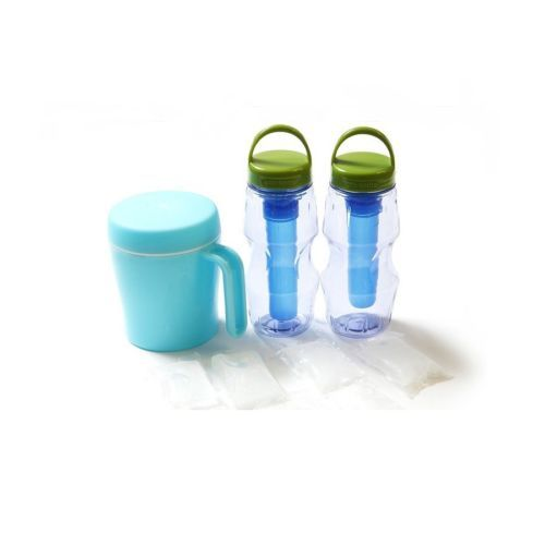 [Summer] Quick Fronzen Ice Slushy Juice Maker Freezer Drink Bottle Cup Mug 300ml