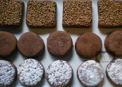 POLVORONES DE CHOCOLATE