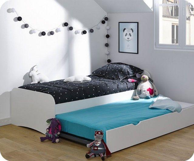 ausziehbett twist wei 90x190cm bild _i - Modernes Tagesbett Mit Ausziehbett