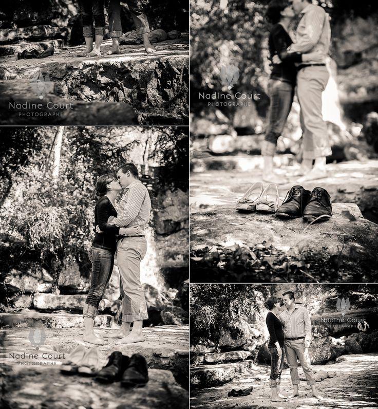 Amoureux-pieds-nus-seance-couple-avant-mariage-cascade-foret-France-Suisse