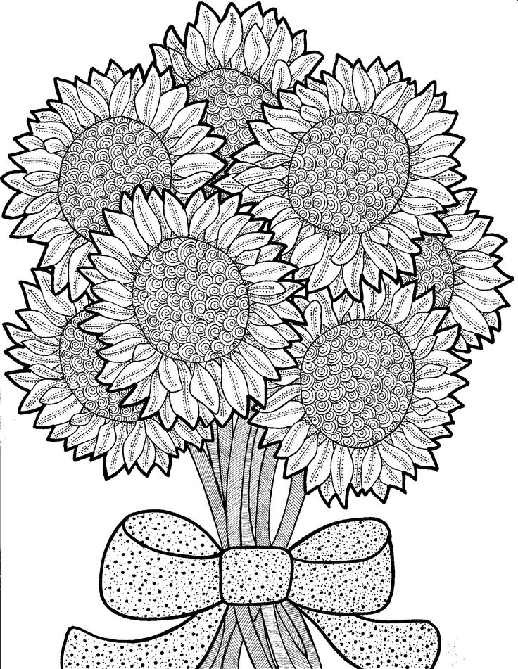 200+ best Sunflower embroidery patterns images on Pinterest ...
