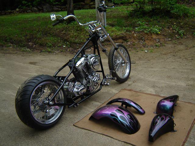 Custom Motorcycles | 2007 HARLEY DAVIDSON Custom Chopper For Sale!